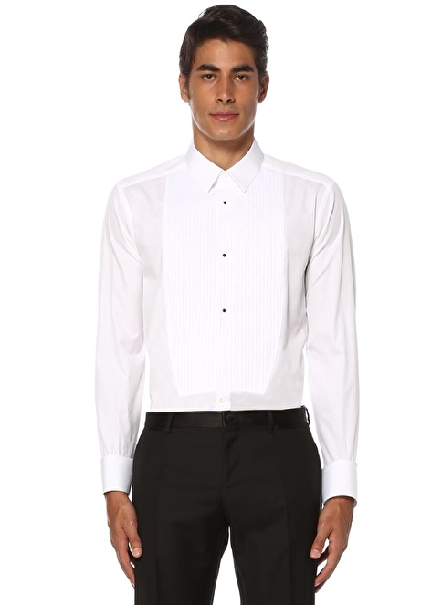 Dolce&Gabbana Smokin Gömlek Beyaz